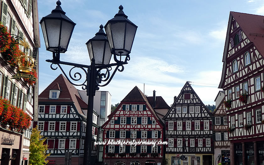 Timber-framed houses in Calw, Germany