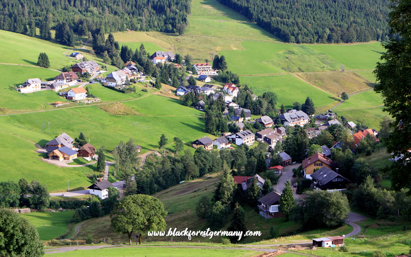 Village in the Black Forest