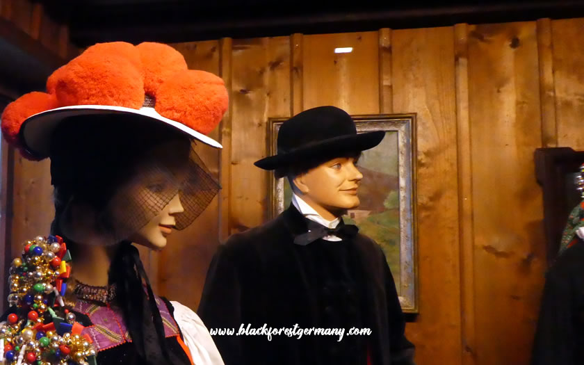 Traditional costumes of the Black Forest