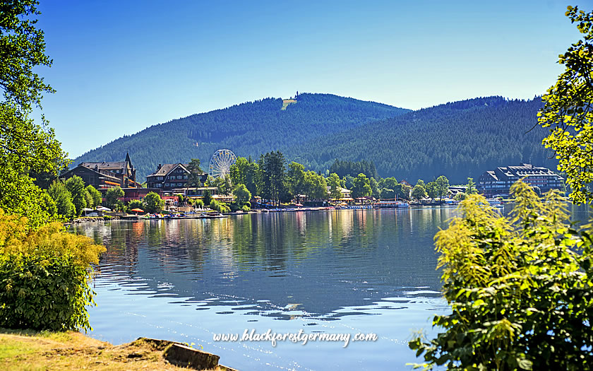 Titisee lake and town