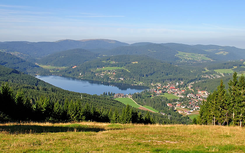 View over the Titisee