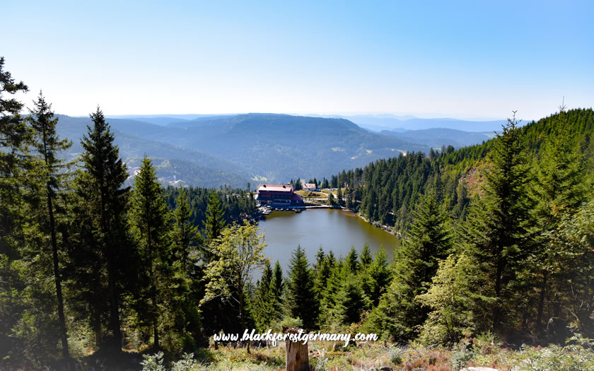 The Mummelsee in the Black Forest